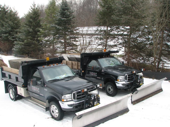 Fairfield County Landscaping, Inc. snow plowing services