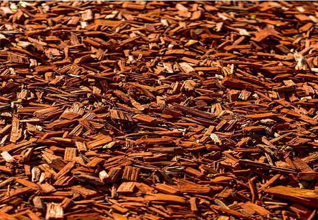 Fairfield County Landscaping, Inc. red cedar mulch