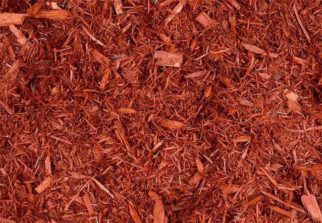 Fairfield County Landscaping, Inc. premium hardwood mulch red